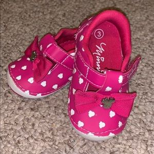 Baby girls Minnie Mouse shoes